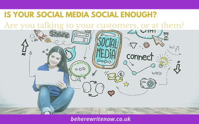 Is your social media social enough?